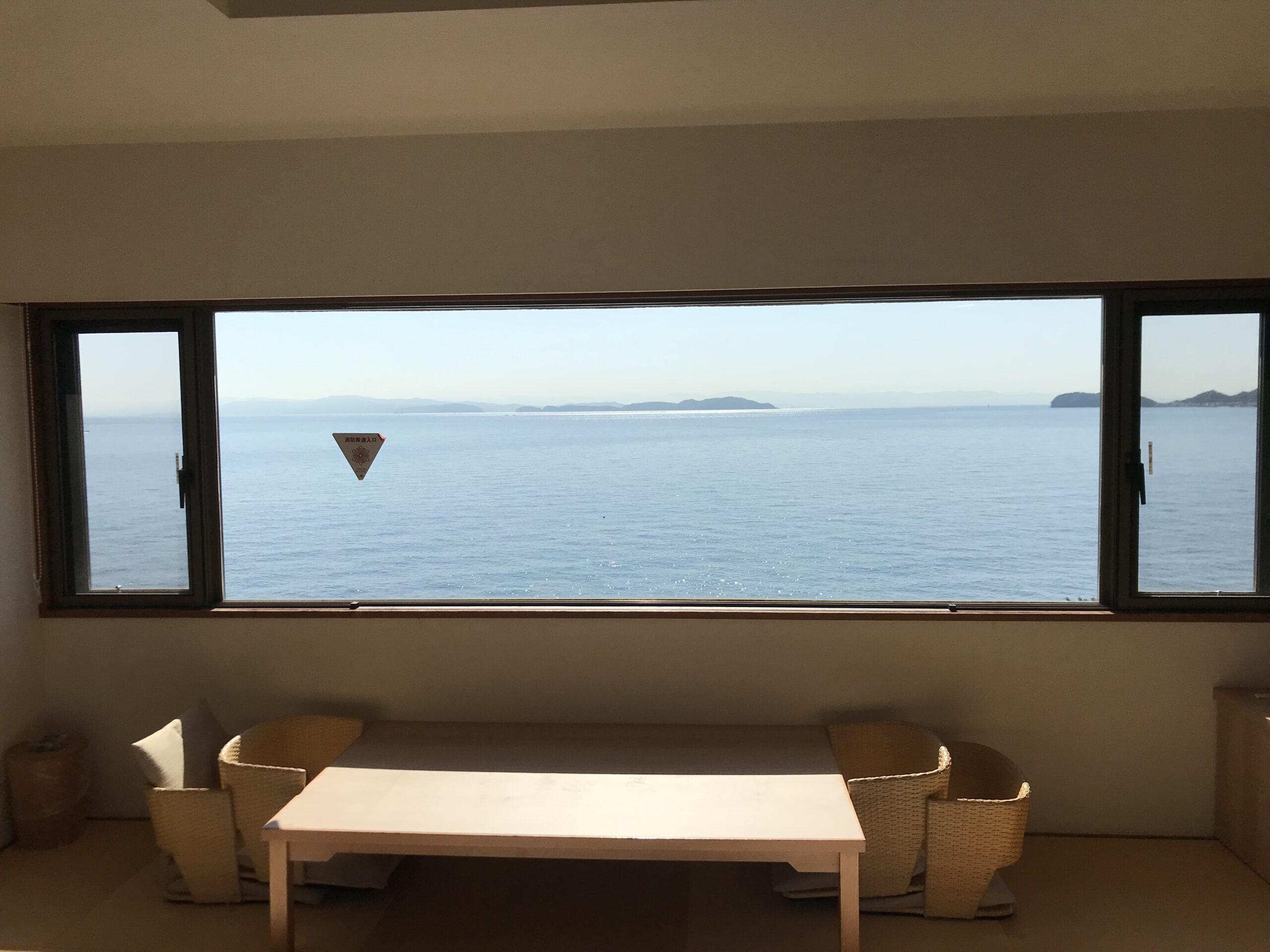 海の見える部屋